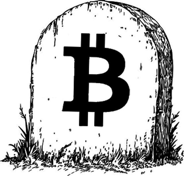 The Death of Bitcoin featured image