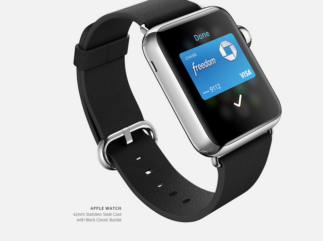 How Apple Pay is suppose to work on the Apple Watch featured image