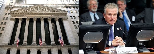 Ex-NYSE CEO joins a Bitcoin company featured image