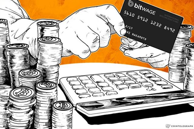 BitWage & Xapo Parter for First BTC Payroll Debit Card featured image