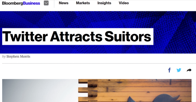 Fake Twitter Acquisition News Sends Shares Soaring featured image