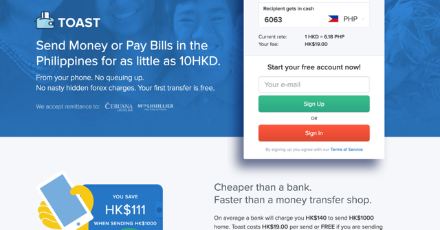 Toast lands $1.5M for cross-border payment services for migrant workers in Asia featured image