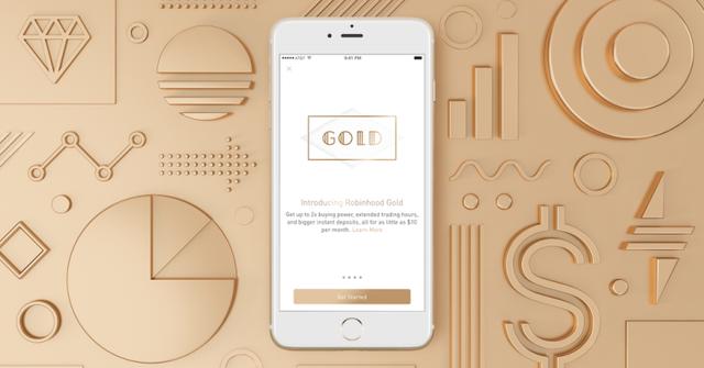 Robinhood announces Robinhood Gold premium service featured image