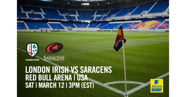 London Irish V Saracens in New Jersey, USA - Round 16 featured image