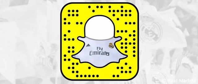 Real Madrid win the Content Strategy El Clasico thanks to new Signing Snapchat featured image