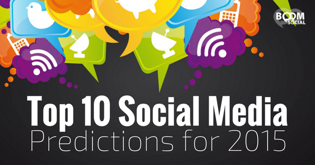 Social Media Trends for 2015 featured image