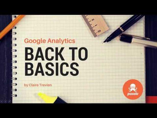 Google Analytics: Back to Basics featured image