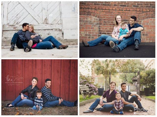 Couple refuse to let their divorce stand in the way of their annual family photo featured image