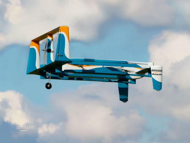 Amazon and UK Government in drones partnership featured image