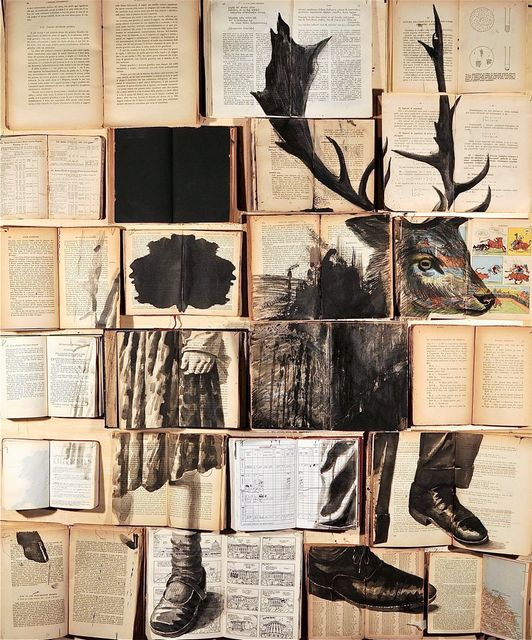 Recycling Books into Art featured image