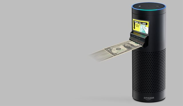 The Amazon Echo...no click payments featured image