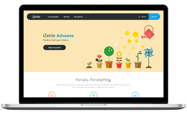 iZettle Gets $67M To Expand From Mobile Payments To Small Business Financing featured image