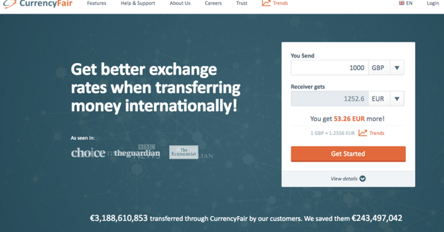 CurrencyFair scores further €8M for p2p currency exchange featured image