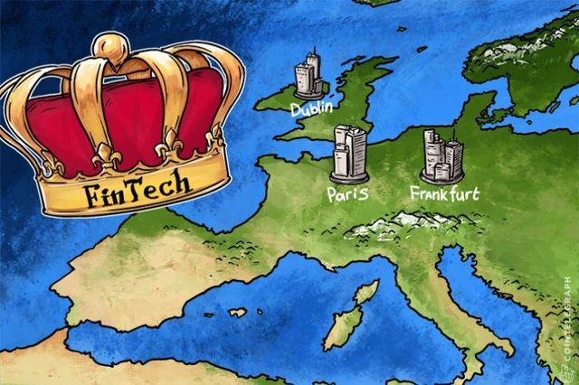 London's Fintech Crown Up For Grabs After Brexit As Dublin, Paris, Frankfurt Cajole Bankers featured image
