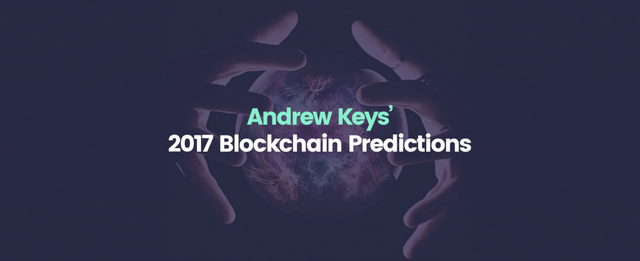 2017 Blokchain predictions featured image
