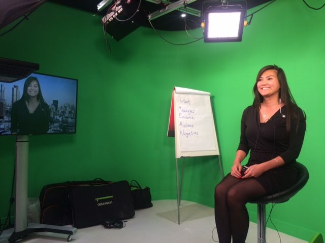 Byfield Team tries out our broadcast media training featured image