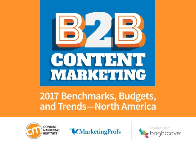Content marketing takes a turn for the better: New 2017 Research featured image