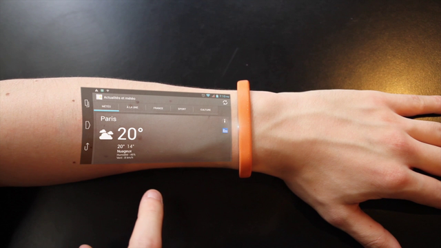 Cicret Bracelet. The Screen of the Future - at Arms Length featured image