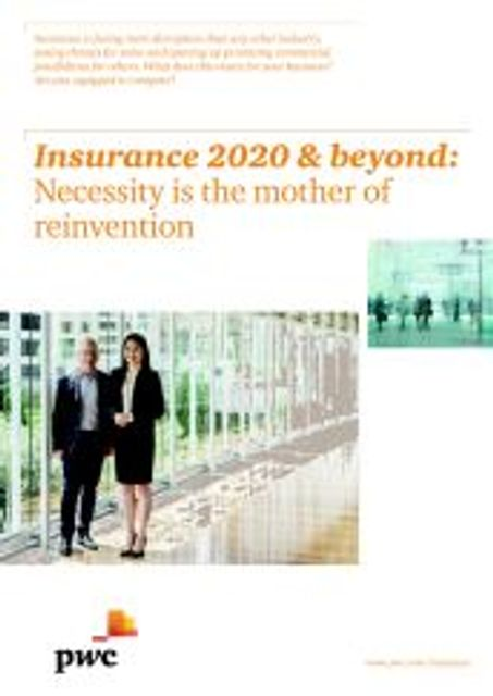 Insurace 2020 & beyond. A view from pwc featured image