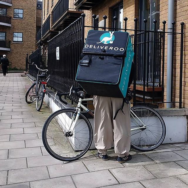 Deliveroo riders on track to follow in Uber's footsteps featured image