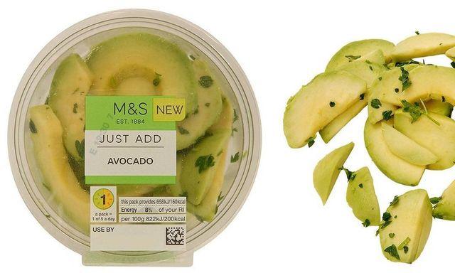 Peeled and sliced avocado, a step too far? featured image