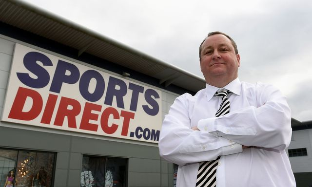 Mike Ashley's 'unexpected' defence of Sports Direct featured image