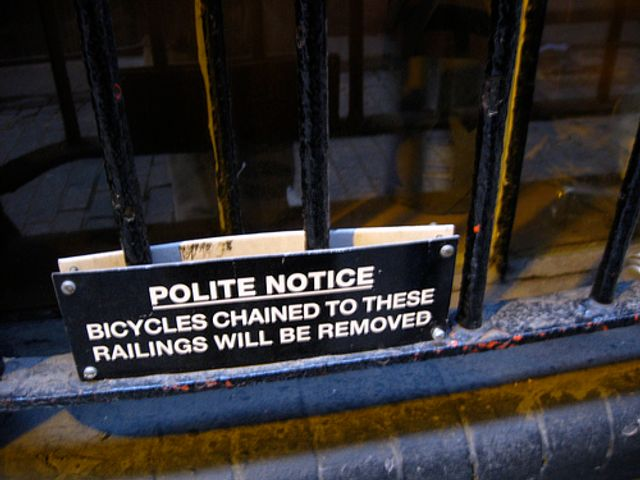 Ignoring polite notices counts as force under English law featured image