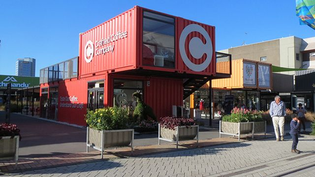 Are shipping containers the answer to sky high shopping centre rents? featured image