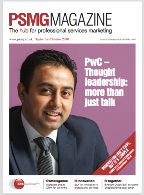PSMG Magazine - a new editor featured image