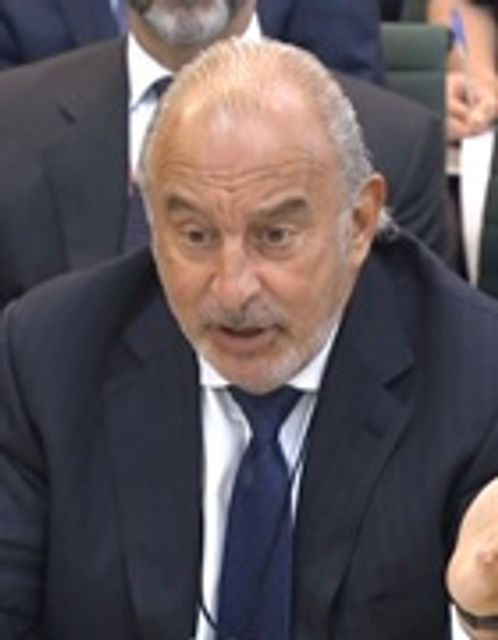 Green 'disingenuous' to rely on lawyers in BHS sale – MPs featured image