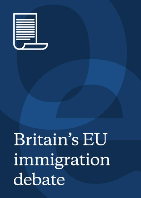 The EU migration debate featured image