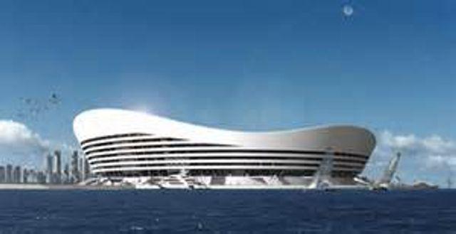 Innovative Floating stadium featured image