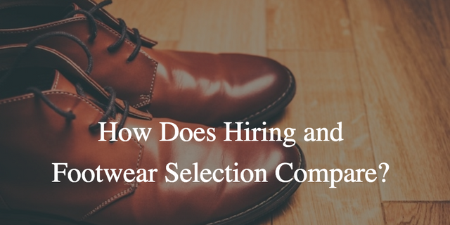How does recruiting key talent for your business and selecting appropriate footwear compare? featured image