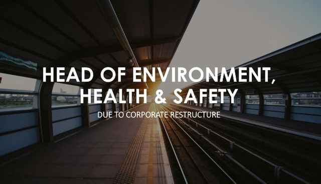 CASE STUDY: HEAD OF EHS - Rail Infrastructure featured image