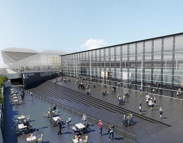 Stansted Airport £130M new arrivals building featured image