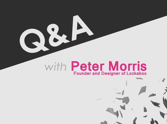 Q&A with Peter Morris, Founder and Director of Lockabox featured image