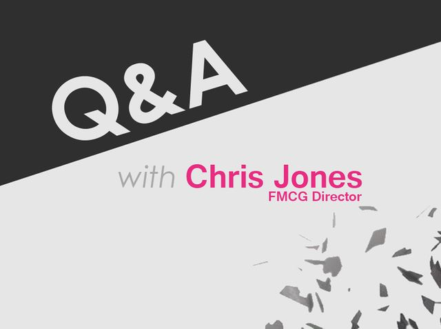 Q&A with Chris Jones, FMCG Director featured image