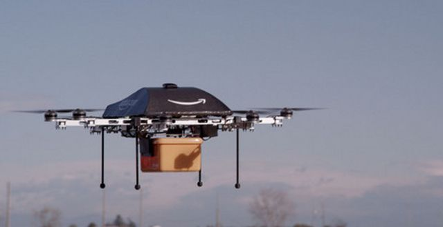 Amazon drone tests set for take off featured image