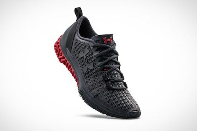Under Armour Debuts First-Ever 3D-Printed Shoes featured image