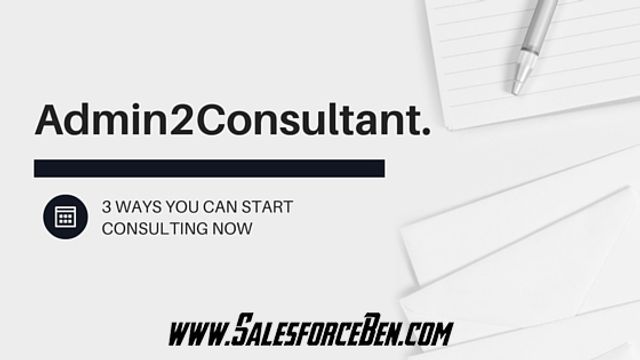 How to start Consulting Now! featured image
