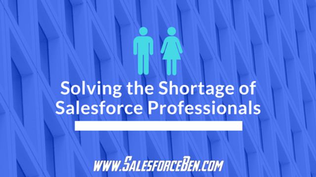 Solving the Shortage of Salesforce Professionals featured image