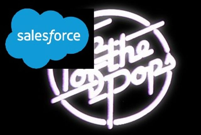 Salesforce are Top of the Pops! featured image