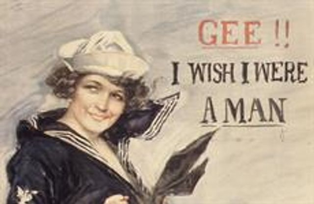 Walk like a man! Talk like a man! featured image