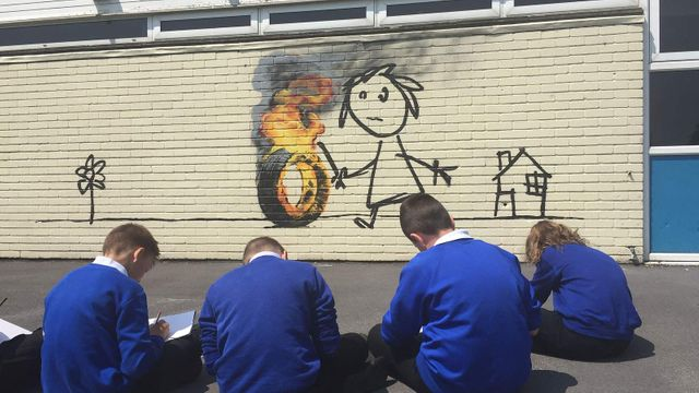 We should all seek forgiveness - like Banksy featured image