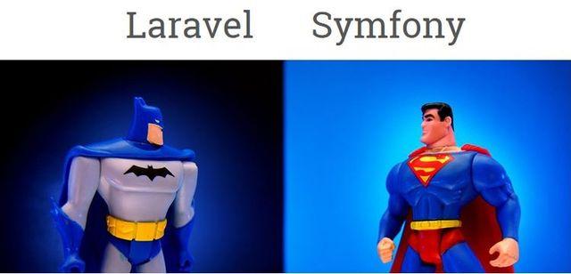 Laravel vs Symfony featured image