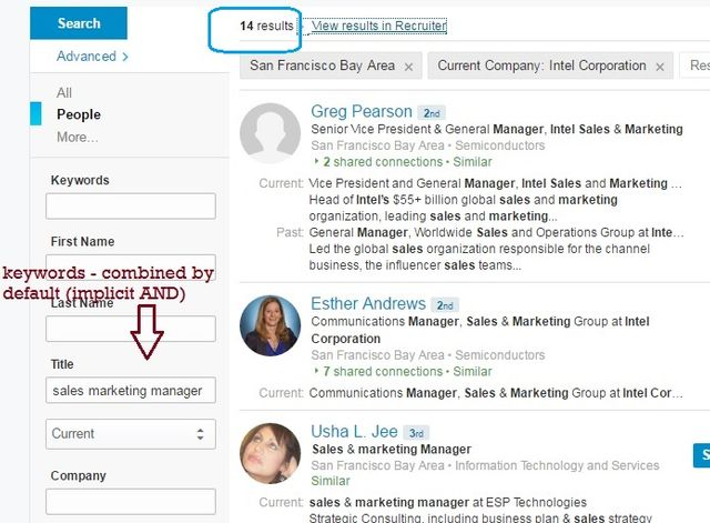 """LinkedIn Syntax change - """"broken saved searches"""" featured image"""