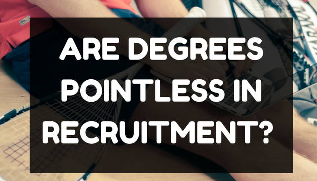 Do You Need a Degree To Work in Recruitment? featured image