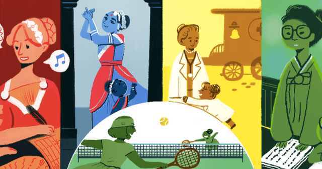 Google Doodle for International Women's day featured image