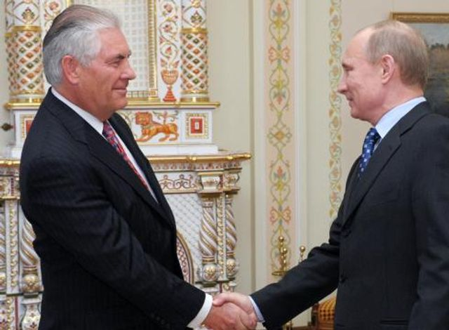 Syria strikes overshadow Tillerson's trip to Russia featured image