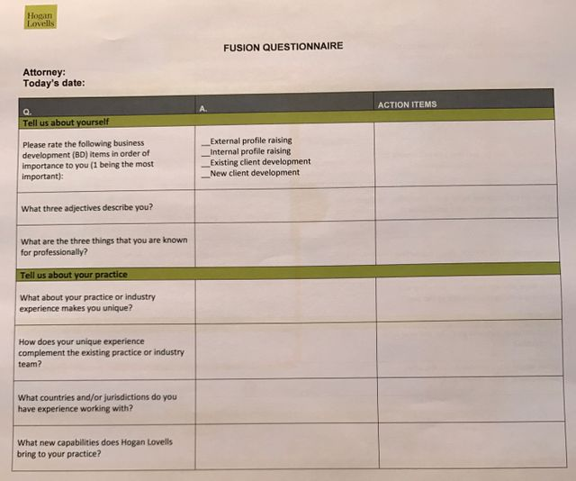 How to get your lawyers to raise their profile and engage in BD activities with Hogan Lovells Fusion featured image